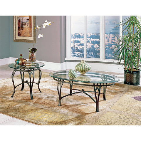 Steve Silver Madrid 2 Piece Occasional Table Set