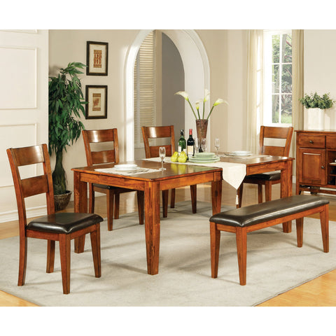 Steve Silver Mango 6 Piece Dining Room Set w/ Leaf