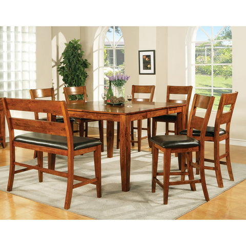Steve Silver Mango 8 Piece Counter Height Set w/ Leaf
