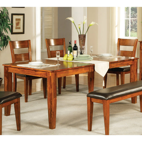 Steve Silver Mango Dining Table W Leaf Beyond Stores