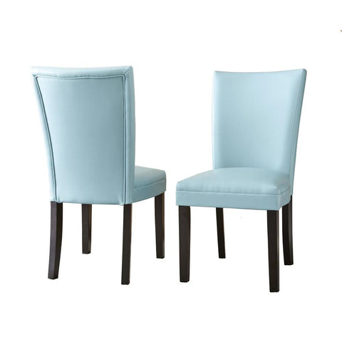 Steve Silver Matinee Side Chair In Aqua