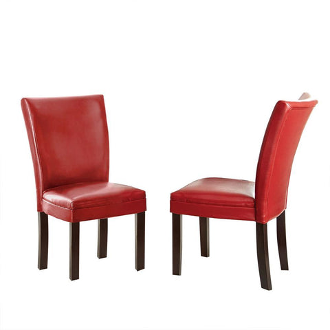 Steve Silver Matinee Side Chair In Red