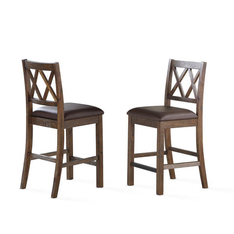 Steve Silver Melanie 5 Piece Dining Room Set in Espresso