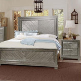 Steve Silver Montana Platform Bed in Gray
