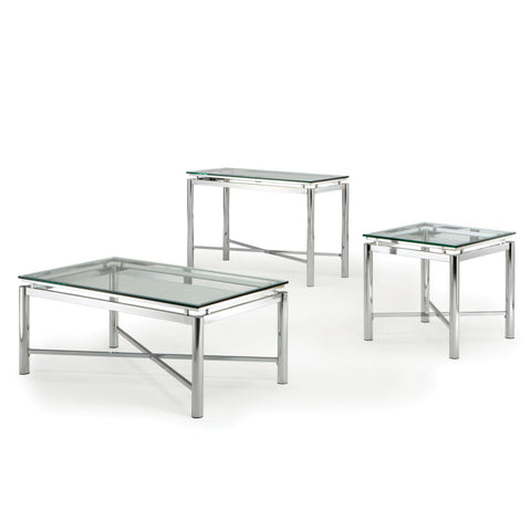 Steve Silver Nova 3 Piece Occasional Table Set