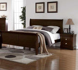 Steve Silver Orleans Sleigh Bed in Cherry