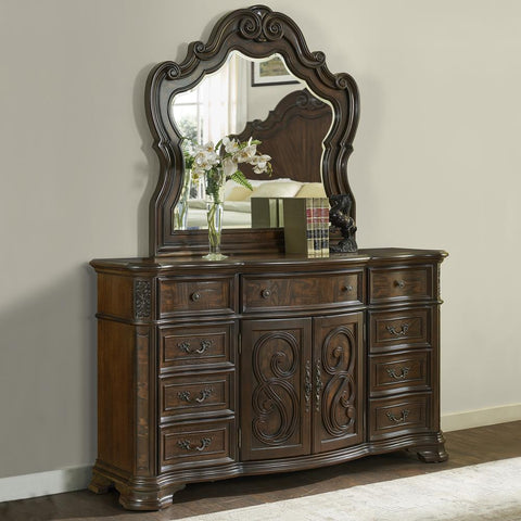 Steve Silver Royale Dresser and Mirror