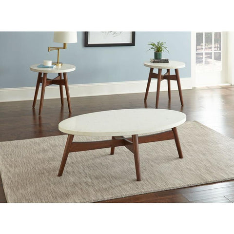 Steve Silver Serena 3 Piece Coffee Table Set