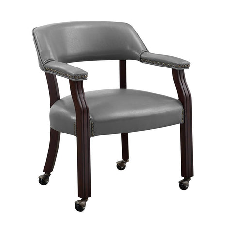 Steve Silver Tournament Arm Chair with casters