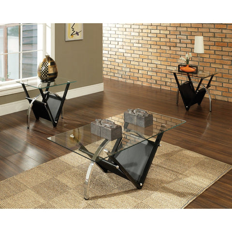 Steve Silver Tribecca 3 Piece Occasional Table Set