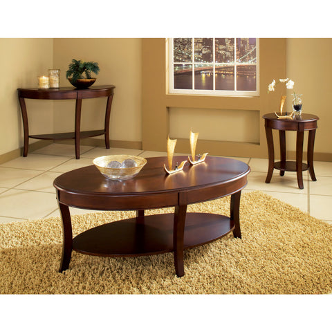 Steve Silver Troy 3 Piece Occasional Table Set