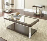 Steve Silver Truman End Table in Espresso
