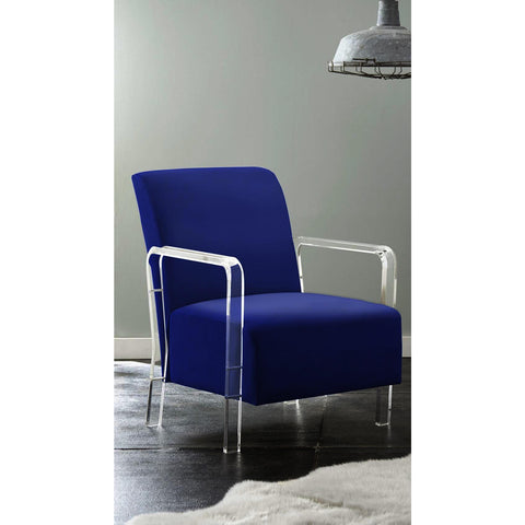 Steve Silver Tyra Arm Chair in Blue