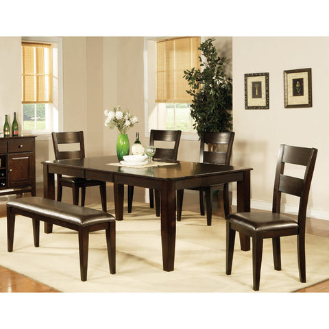 Steve Silver Victoria 6 Piece Dining Room Set w/ Leaf