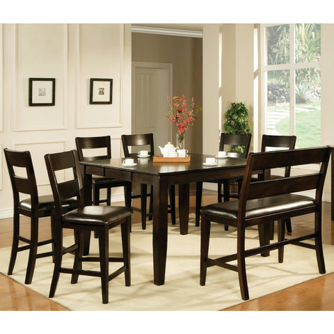Steve Silver Victoria 8 Piece Counter Height Set w/ Leaf