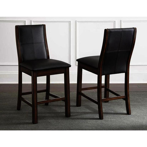 Steve Silver Xander Counter Chair in Burnished Espresso