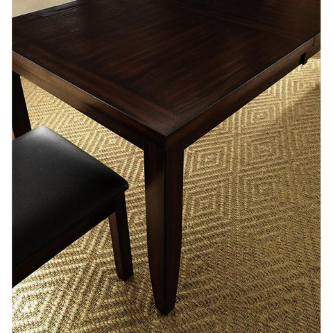 Steve Silver Xander Dining Table in Burnished Espresso