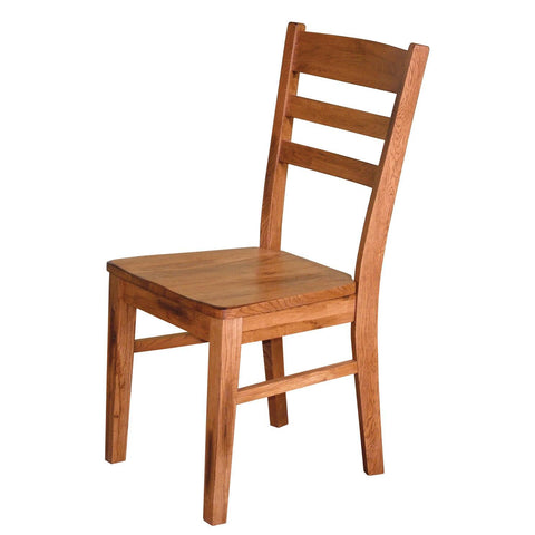 Sunny Designs 1616RO Sedona Ladder-back Chair In Rustic Oak