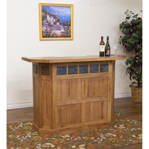 Sunny Designs 2421RO Sedona Bar In Rustic Oak