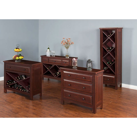 Sunny Designs Accent Chest with Wine Storage