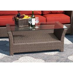 Sunny Designs Avalon Coffee Table In Woven