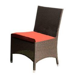 Sunny Designs Avalon Side Chair In Woven