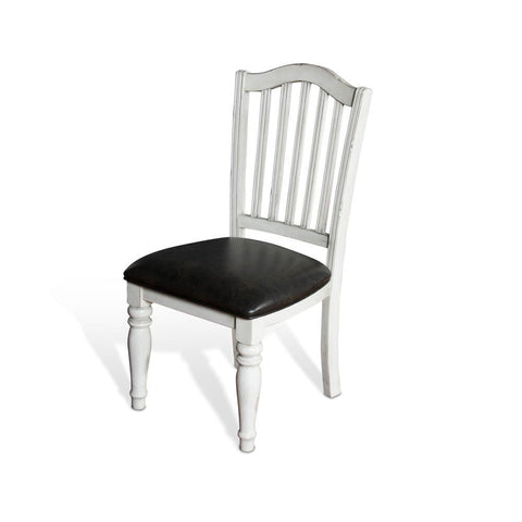 Sunny Designs Bourbon County Slatback Chair in French Country