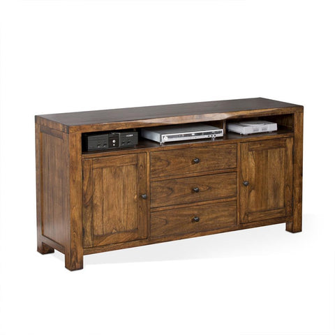 Sunny Designs Carey Live Edge 64 Inch TV Console in Nature Walk