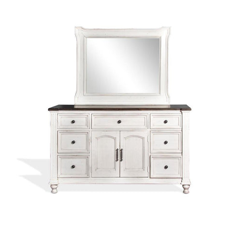 Sunny Designs Carriage House Dresser in European Cottage