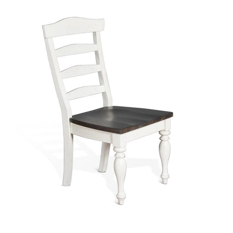 Sunny Designs Carriage House Ladderback Chair in European Cottage
