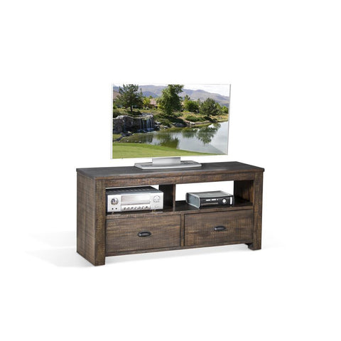 Sunny Designs Coleton 54 Inch TV Console in Tobacco Leaf