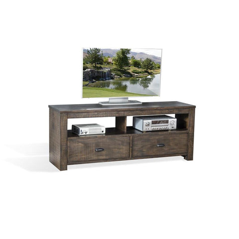 Sunny Designs Coleton 64 Inch TV Console in Tobacco Leaf