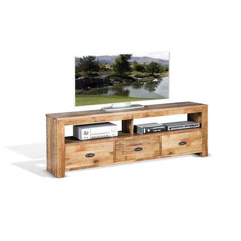 Sunny Designs Coleton 74 Inch TV Console in Antique Charcoal