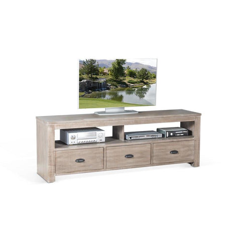 Sunny Designs Coleton 74 Inch TV Console in Mountain Ash