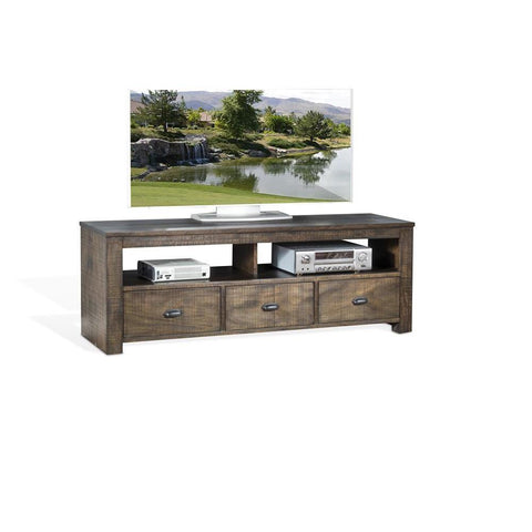 Sunny Designs Coleton 74 Inch TV Console in Tobacco Leaf