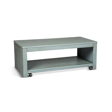Sunny Designs Coleton Coffee Table in Little Boy Blue