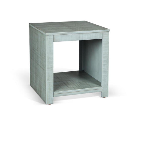 Sunny Designs Coleton End Table in Little Boy Blue