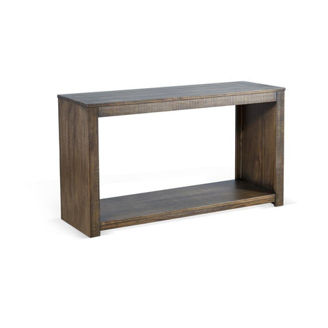 Sunny Designs Coleton Sofa Table in Tobacco Leaf