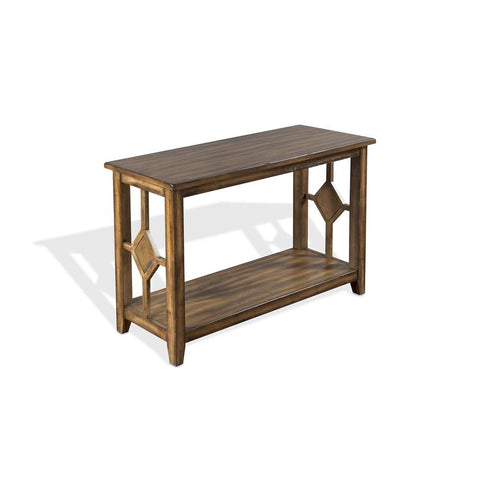 Sunny Designs Coventry Sofa/ Console Table in Burnish Mocha