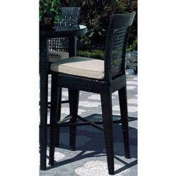 Sunny Designs Dakota Barstool with Cushion Seat In Woven