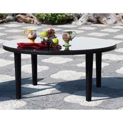 Sunny Designs Dakota Chat Table In Woven