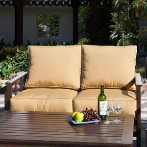 Sunny Designs Gamble Creek Glider Loveseat