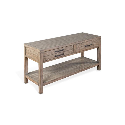 Sunny Designs Glasgow Sofa/ Console Table in Cadet Gray