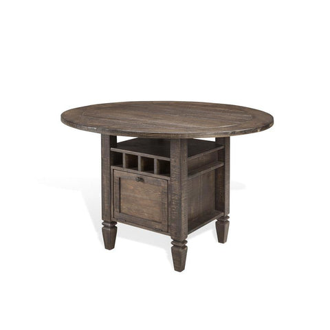 Sunny Designs Homestead Counter Height Table in Tobacco Leaf