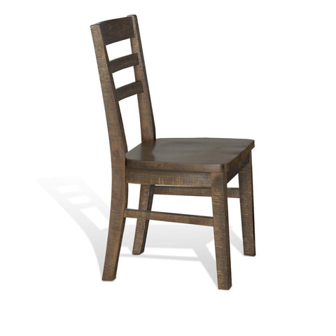 Sunny Designs Homestead Ladderback Chair in Tobacco Leaf