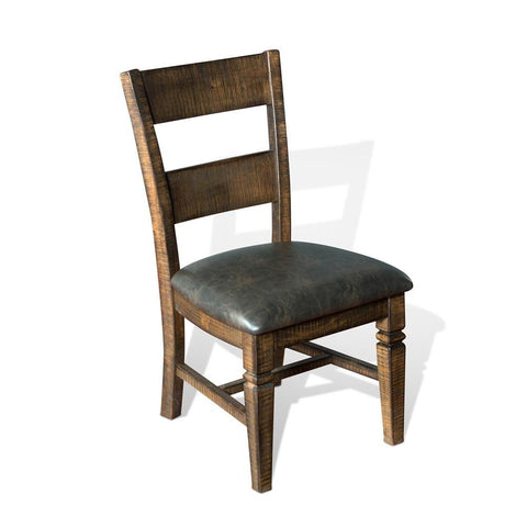 Sunny Designs Homestead Ladderback Dining Chair in Tobacco Leaf