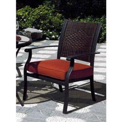 Sunny Designs Las Palmas Arm Chair In Woven
