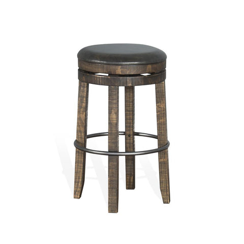 Sunny Designs Metroflex Backless Barstool in Tobacco Leaf