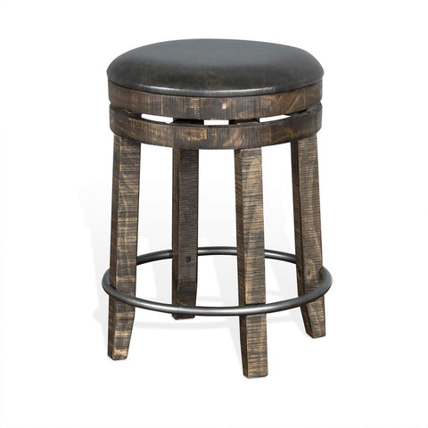 Sunny Designs Metroflex Backless Counter Stool in Tobacco Leaf