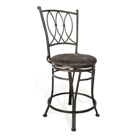 Sunny Designs Metroflex Jaylen Metal Counter Stool in Graphit